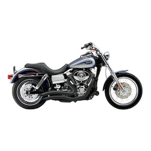 """Cobra Speedster Short Swept 2.5"""" Exhaust For Harley Dyna 2006-2011"""
