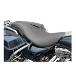 Danny Gray Short Hop 2-Up Seat For Harley Touring 1997-2007