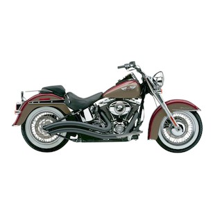 Cobra Speedster Swept Exhaust For Harley Softail 2007-2011