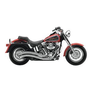 Cobra Speedster Swept Exhaust For Harley