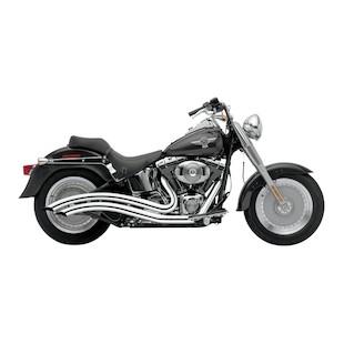 "Cobra Speedster Long Swept 2.5"" Exhaust For Harley"