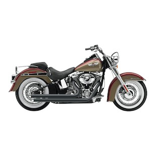 "Cobra Speedster Slashdown 2.5"" Exhaust For Harley Softail 2012-2014"