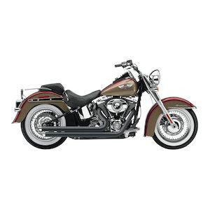 Cobra Speedster Slashdown Exhaust For Harley Softail 2007-2011