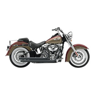 "Cobra Speedster Slashdown 2.5"" Exhaust For Harley Softail 2007-2011"