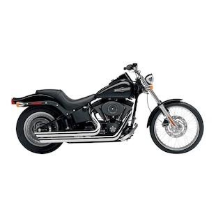 Cobra Speedster Slashdown Exhaust For Harley Softail 1986-2006