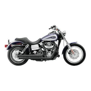 Cobra Speedster Slashdown Exhaust For Harley Dyna 2006-2011