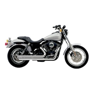Cobra Speedster Slashdown Exhaust For Harley Dyna 1991-2005