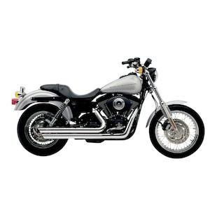"Cobra Speedster Slashdown 2.5"" Exhaust For Harley Dyna 1991-2005"