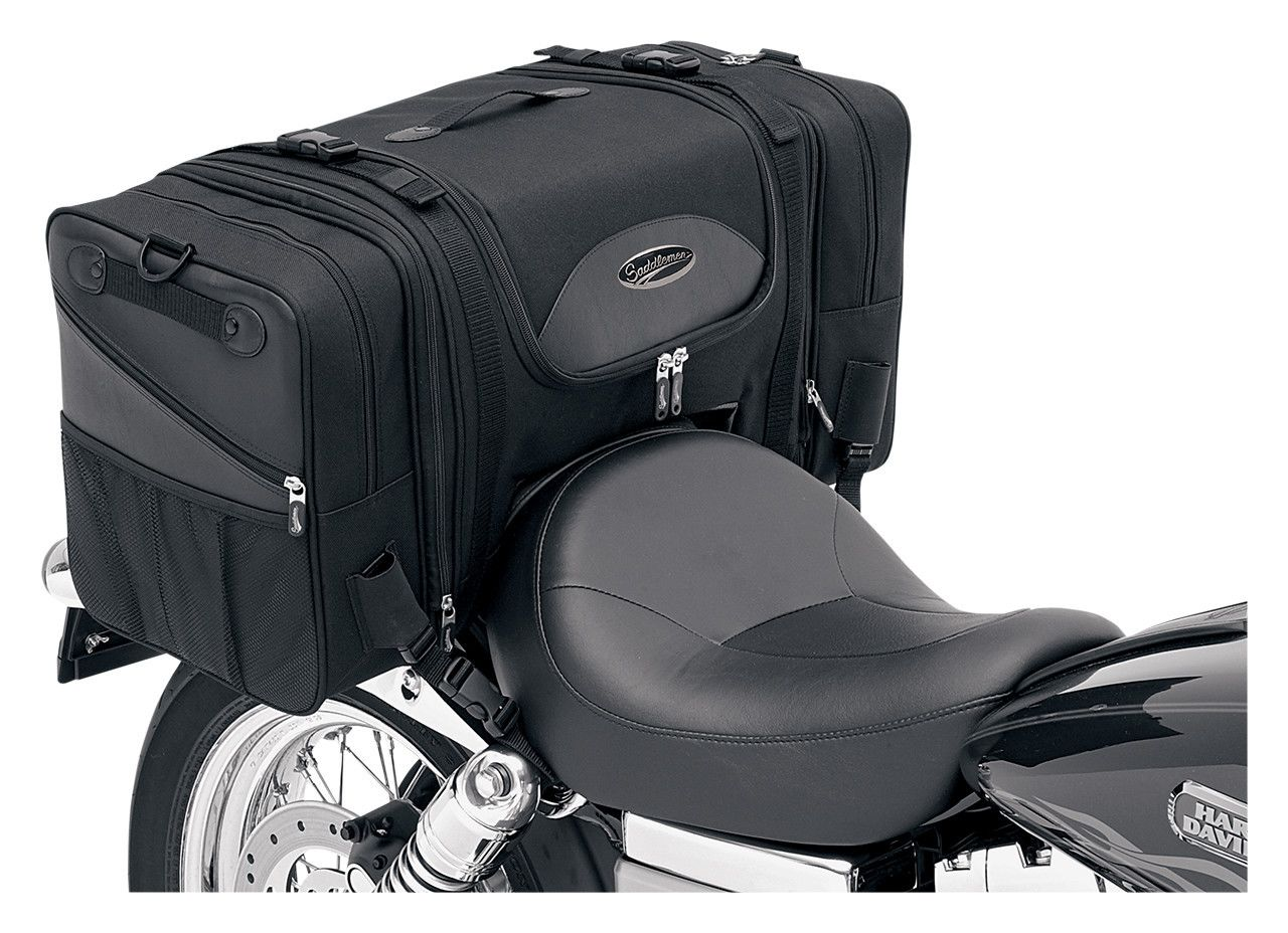 Saddlemen Ts3200de Deluxe Cruiser Tail Bag 10 16 30 Off Revzilla