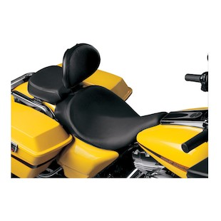 Danny Gray BigSeat With Backrest Capability For Harley Road / Electra Glide 1997-2007