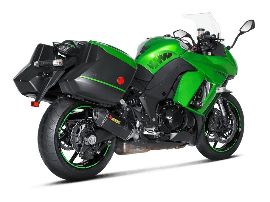 Akrapovic Slip On Exhaust Kawasaki Ninja 1000 2014 2018
