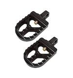 Joker Machine Adjustable Serrated Short Foot Pegs For Harley