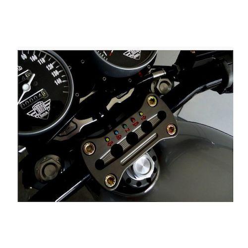 Led Lights For Motorcycle >> Joker Machine Riser Handlebar Top Clamp LED Indicator ...