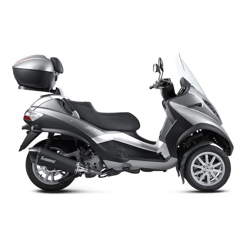 akrapovic slip on exhaust piaggio mp3 400 500 beverly. Black Bedroom Furniture Sets. Home Design Ideas
