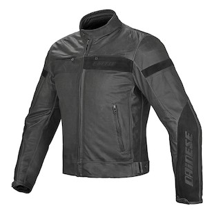 Dainese Stripes EVO Perforated Leather Jacket