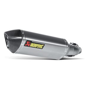 Akrapovic Slip-On Exhaust Suzuki GSXR 600 / GSXR 750 2011-2018