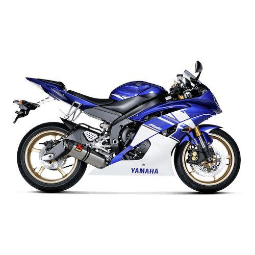 Yamaha yzf r6 10 16 silencieux titan akrapovic 1811 for Best exhaust system for yamaha r6