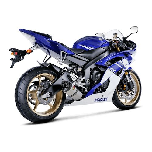 akrapovic racing exhaust system yamaha r6 2008 2015 revzilla. Black Bedroom Furniture Sets. Home Design Ideas