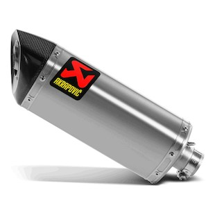 Akrapovic Slip-On Exhaust Yamaha R6 2008-2009