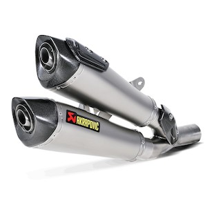 Akrapovic Slip-On Exhaust Ducati Diavel 2011-2014
