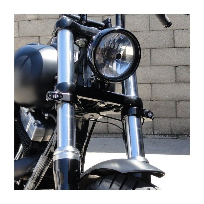 Joker Machine LED Turn Signals For Harley Forks