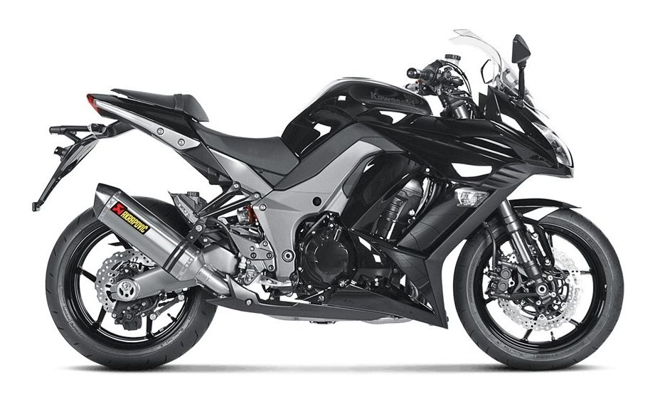 Akrapovic Racing Exhaust System Kawasaki Ninja Z