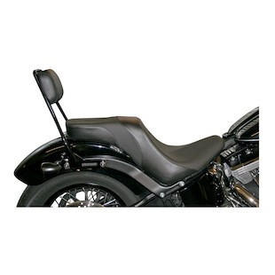 Danny Gray Weekday 2-Up XL Seat For Harley Slim/Blackline 2011-2014