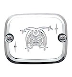 Joker Machine Front Master Cylinder Cover For Harley 1996-2009