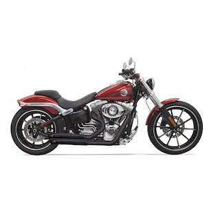 Bassani Pro-Street Exhaust System For Harley Breakout and Rocker 2008-2014