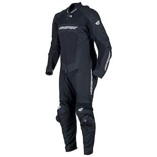 AGV Sport Strike 1-Piece Leather/Textile Race Suit