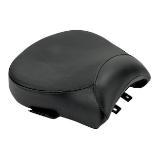Danny Gray BigSeat Passenger Pad With Backrest Capability For Harley Softail 2006-2007