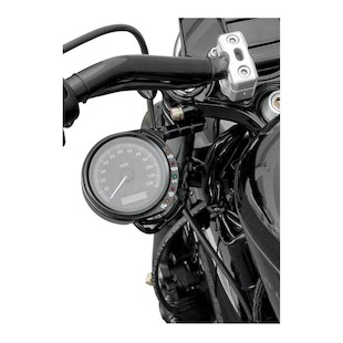 Joker Machine LED Speedo Relocation Bracket For Harley 883 Sportster 2007-2013