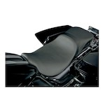 Danny Gray Weekday 2-Up XL Seat For Harley Dyna 2006-2016
