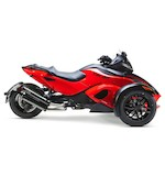 Two Brothers M-2 VALE Dual Slip-On Exhaust Can-Am Spyder RS 2008-2012