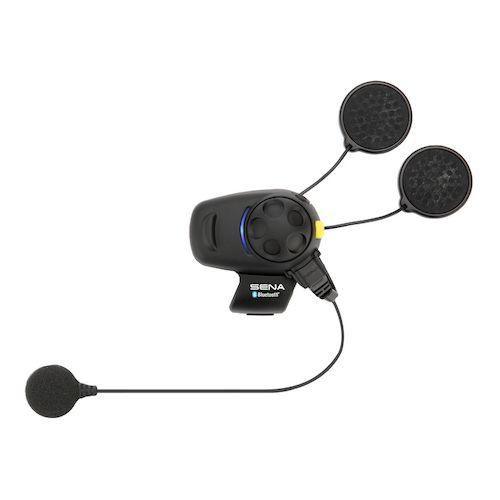 sena smh5 fm bluetooth headset wired mic dual pack revzilla. Black Bedroom Furniture Sets. Home Design Ideas