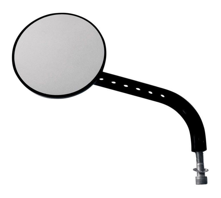 Joker machine viewtech 7 long stem round mirror for harley for Small long mirrors