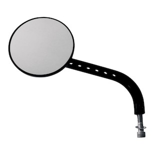 Joker Machine Viewtech 7 Long Stem Round Mirror For Harley
