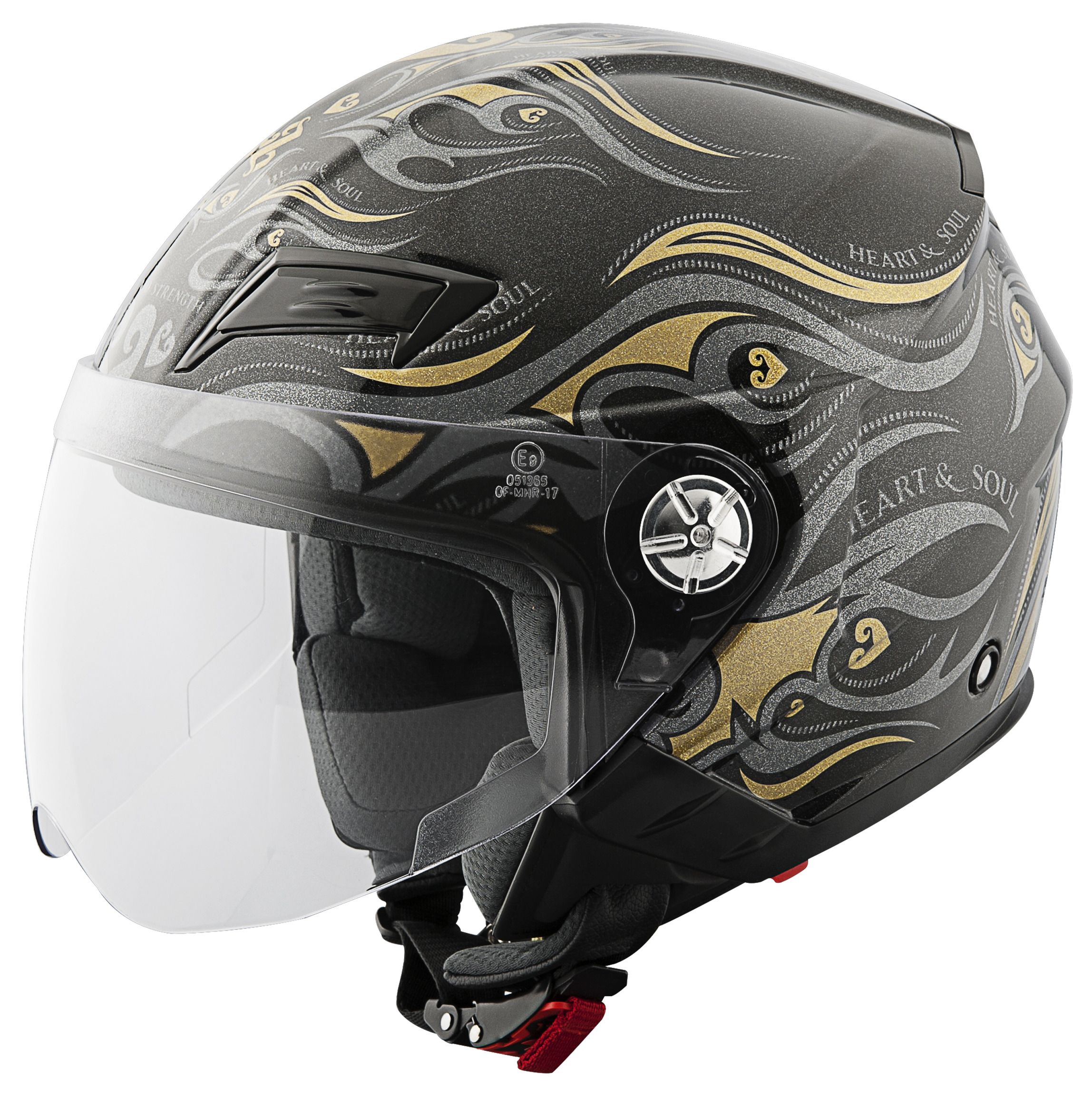 Speed and Strength SS650 Heart And Soul Women's Helmet ...