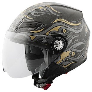 Speed and Strength Women's SS650 Heart And Soul Helmet