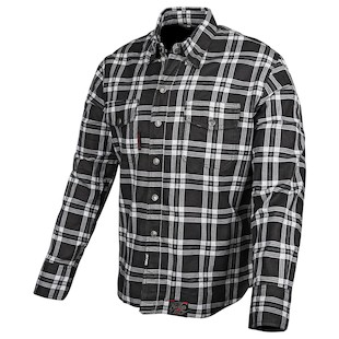 Speed and Strength Black 9 Moto Shirt (Color: Black/White / Size: SM)