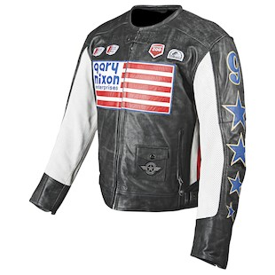 Speed and Strength Gary Nixon Leather Jacket