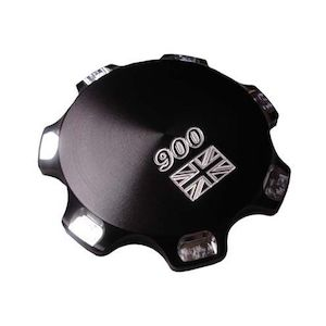 Joker Machine Union Jack Billet Gas Cap For Triumph 2000-2015