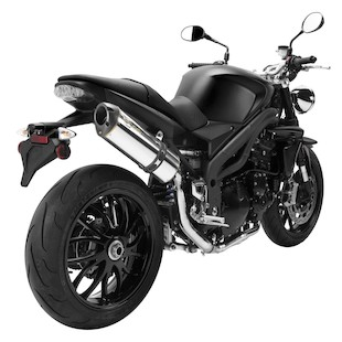 Two Brothers M-2 VALE Slip-On Exhaust Triumph Speed Triple 2007-2010