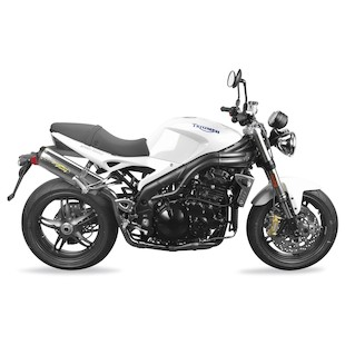 Two Brothers M-2 VALE Slip-On Exhaust Triumph Speed Triple 2005-2007