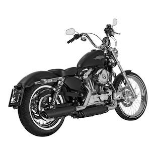 Akrapovic Slash Cut Slip-On Exhaust For Harley Sportster 2006-2013