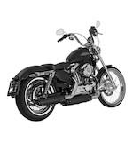 Akrapovic Slash Cut Slip-On Exhaust For Harley Sportster