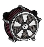 Roland Sands Venturi Raid Air Cleaner For Harley Big Twin 1993-2016