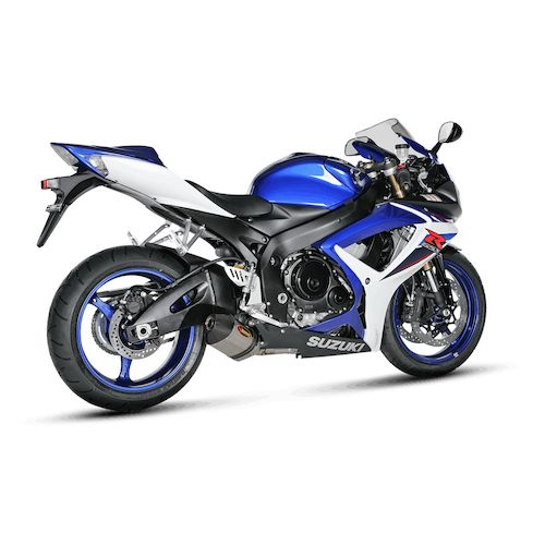 akrapovic slip on exhaust suzuki gsxr 600 gsxr 750 2006 2007 revzilla. Black Bedroom Furniture Sets. Home Design Ideas