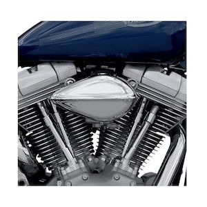 Paughco Ribbed Teardrop Air Cleaner For Harley Big Twins 2001-2017