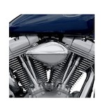 Paughco Ribbed Teardrop Air Cleaner For Harley Big Twins 2001-2015